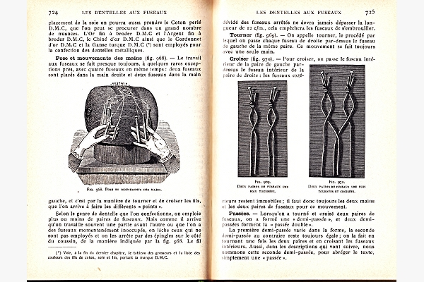 ENCYCLOPEDIE DE OUVRAGES DE DAMES par TH. de DILEMONT - obrázek nr. 2